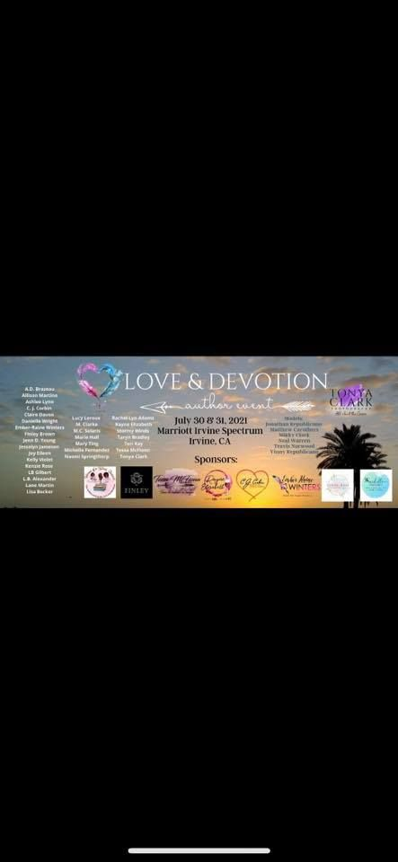 Love & Devotion Author Event OC 2021, 30 July | Event in Irvine | AllEvents.in