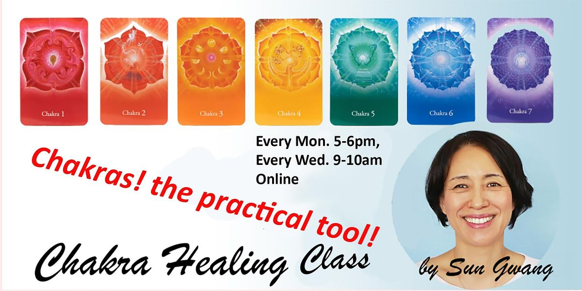 Chakra Healing by Sun Gwang | Online Event | AllEvents.in