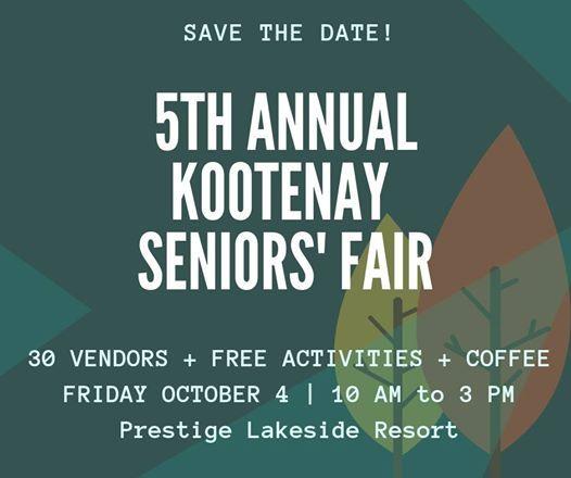 5th Annual Kootenay Seniors Fair