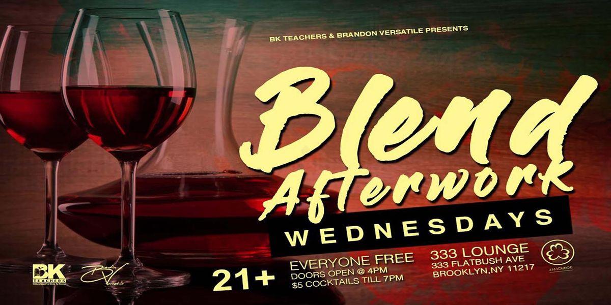 BLEND Afterwork WEDNESDAYS, 16 December   Event in Brooklyn   AllEvents.in