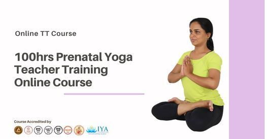 100hrs Prenatal Yoga Teacher Training Course - Online Learning, 15 December | Event in Chennai | AllEvents.in