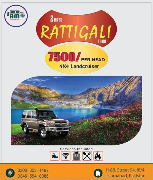 03 Days Ratti- Galli Lake Adventure (4x4 Jeep Package) | Event in Islamabad | AllEvents.in