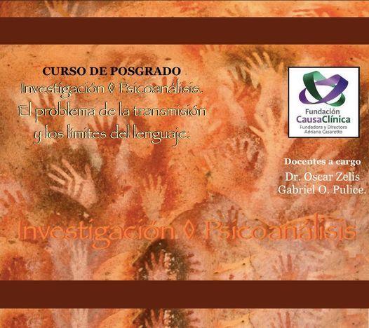 El problema de la transmisión y los límites del lenguaje. Curso de Posgrado., 10 April | Event in Vicente López