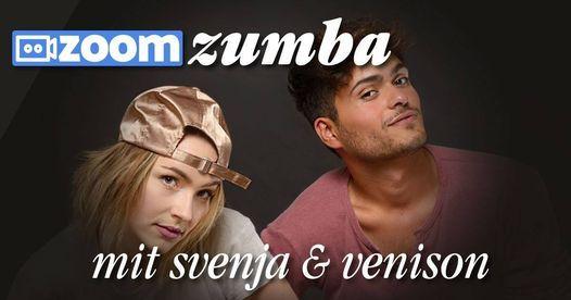 ZOOM Zumba Fitness mit Svenja und Venison, 20 January   Online Event   AllEvents.in