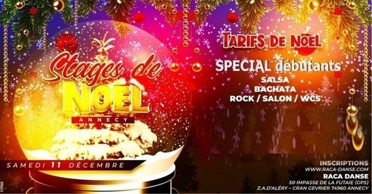 STAGES de NOEL  + PRATIQUE, 11 December   Online Event   AllEvents.in
