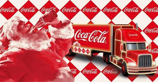 Coca cola truck cottbus