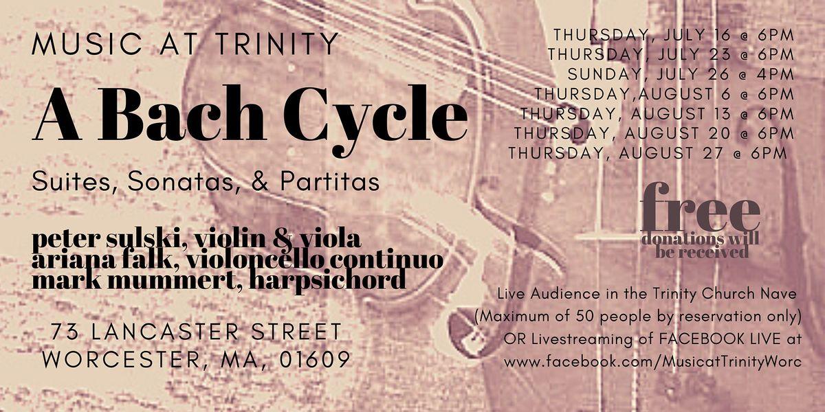 A Bach Cycle Suites Sonatas & Partitas