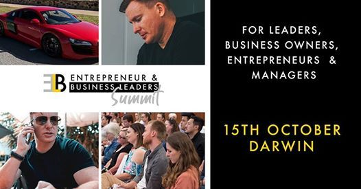 Entrepreneur & Business Leaders Summit - Darwin Event