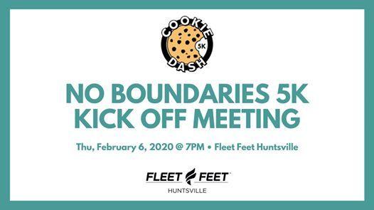 Fleet Feet No Boundaries Cookie Dash 5K Training Kick Off