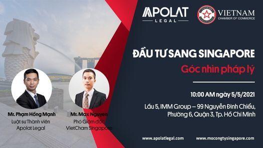 Đầu tư sang Singapore - Góc nhìn pháp lý | Event in Ho Chi Minh City | AllEvents.in