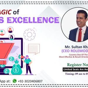 One Day Training Workshop on The Magic of Sales Excellence