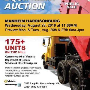 Public Surplus and Equipment Auction | Pleasant Valley