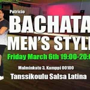 Men Bachata Styling at Salsa Latina Friday March 6th