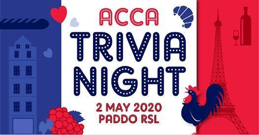 ACCA Trivia Night