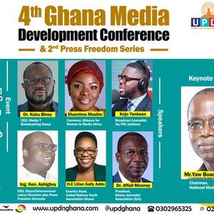 4th Ghana Media Devt Conference & 2nd Press Freedom Series