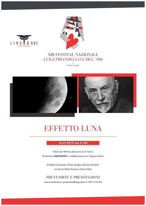 Festival Pirandello e del 900 - Effetto Luna