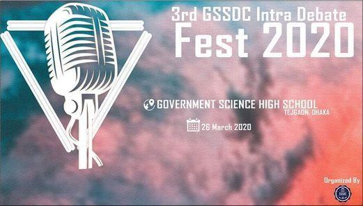 3rd GSSDC Intra Debate Fest 2020, 1 September | Event in Dhaka | AllEvents.in