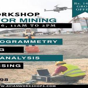 Online Workshop on Drones For Mining