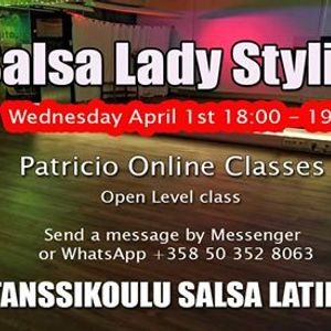 Patricios Online Salsa Lady Styling Open Level