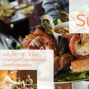 Surf & Turf Demonstration Cooking Class