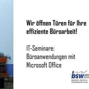 Microsoft Excel Grundkurs in Dresden