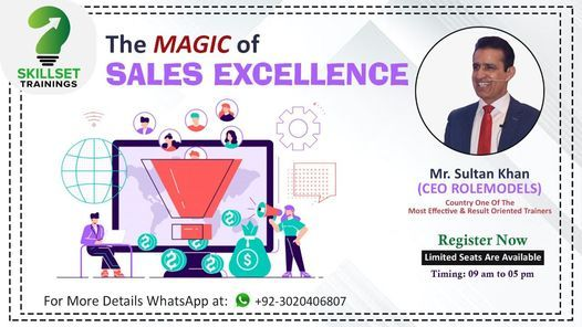 "One Day Training Workshop on ""The Magic of Sales Excellence"", 20 March 
