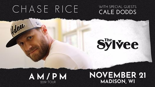 Chase Rice Am Pm Tour At The Sylvee Madison