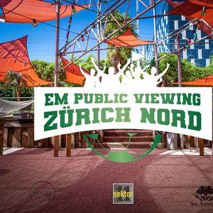 EM - Das grosse Public Viewing in Zrich Oerlikon
