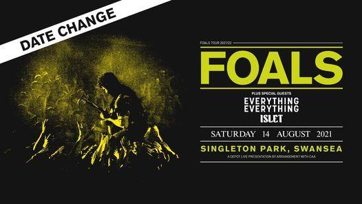 FOALS // Singleton Park, Swansea, 14 August   Event in Swansea   AllEvents.in