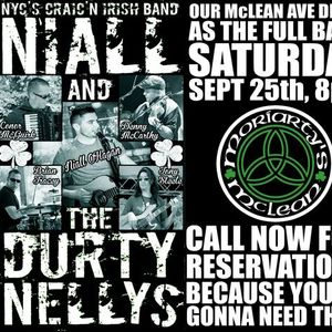 The Durty Nellys return to Moriartys - FULL BAND DEBUT on McLEAN AVE