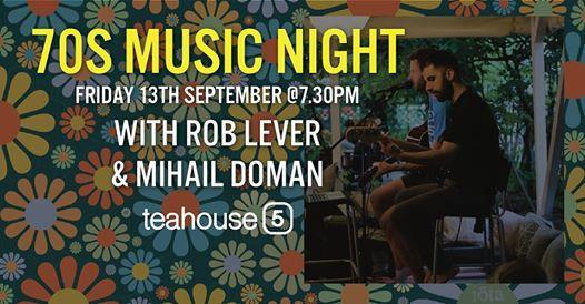 70s Music Night @Teahouse 5 | Vâlcea