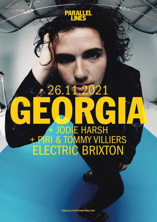 Parallel Lines Presents Georgia, 16 April | Event in London | AllEvents.in