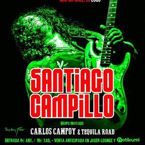 Santiago Campillo en sala Jager Lounge (Lugo)