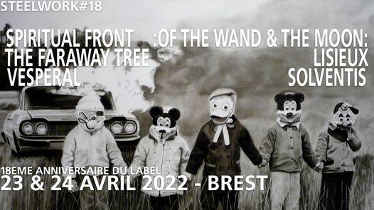 Steelwork #18 @ Kabaret Nada!, 23 October   Event in Brest   AllEvents.in