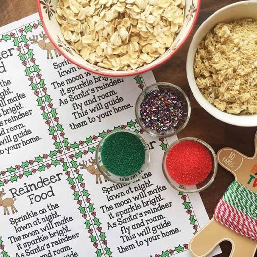 Stay and Play - Make Reindeer Food