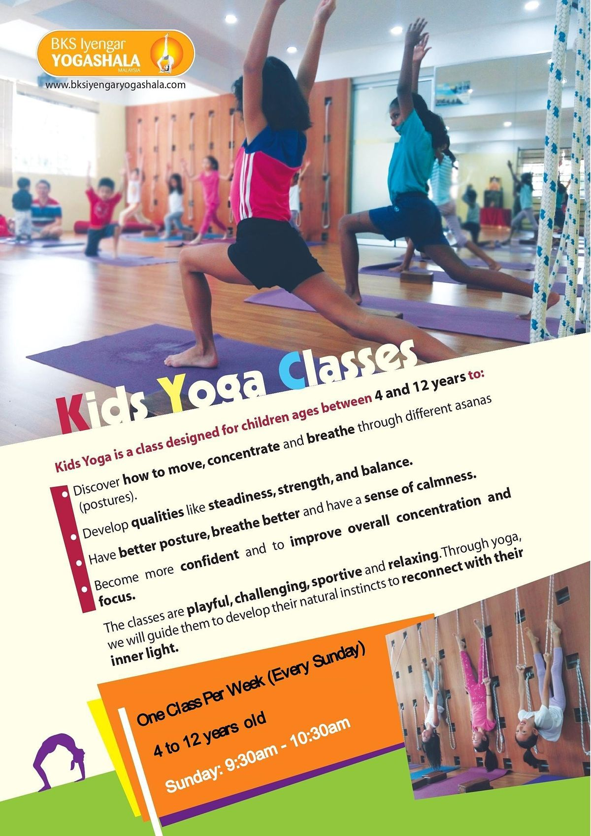 Yoga for Kids (Iyengar Yoga)