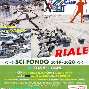XCSKI Clinc Camp (SCI FONDO) < inizio di Stagione 2019-2020 >