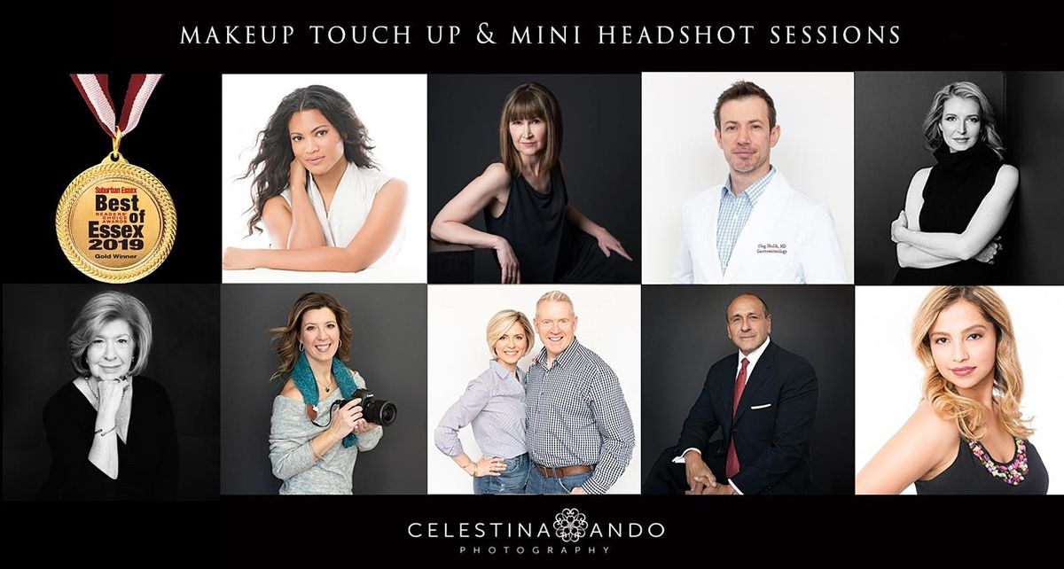 Makeup & Headshots - 9/17 & 9/19   Event in Montclair   AllEvents.in