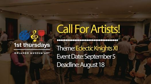 Call For Artists - 1st Thursdays: Eclectic Knights at 1st Thursdays