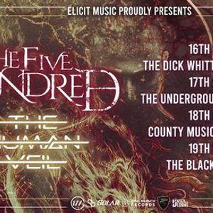 THE FIVE HUNDRED  THE HUMAN VEIL UK TOUR