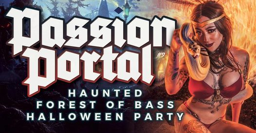 PASSION PORTAL Halloween - Haunted Forest Of Bass, 29 October | Event in Vancouver | AllEvents.in