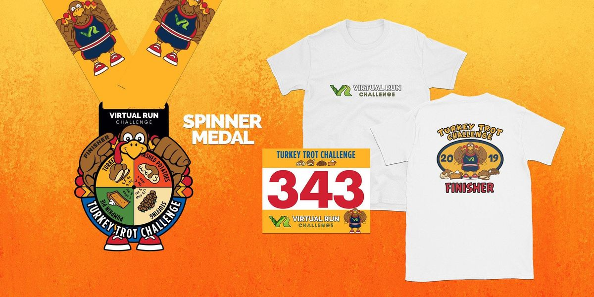 2019 - Turkey Trot Virtual Challenge - Houston