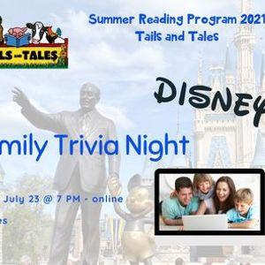 Family Trivia Night - Disney
