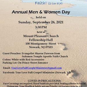 Annual Men & Women Day