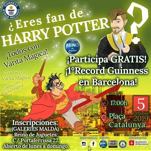 Harry Potter Record Guinness Barcelona
