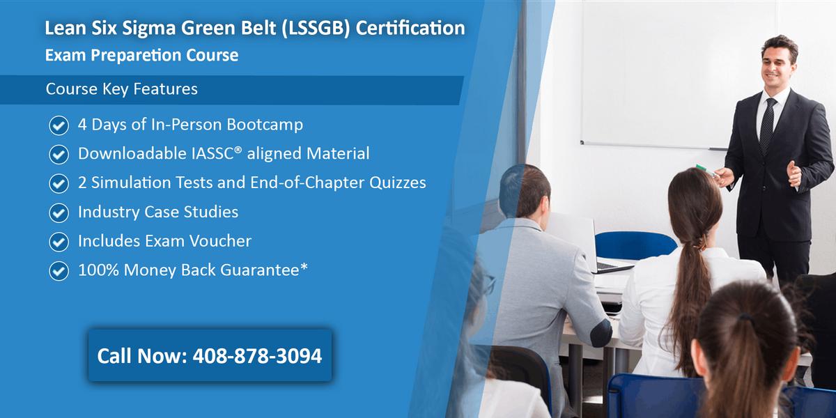 Lean Six Sigma Green Belt (LSSGB) Certification Training In Nashville TN