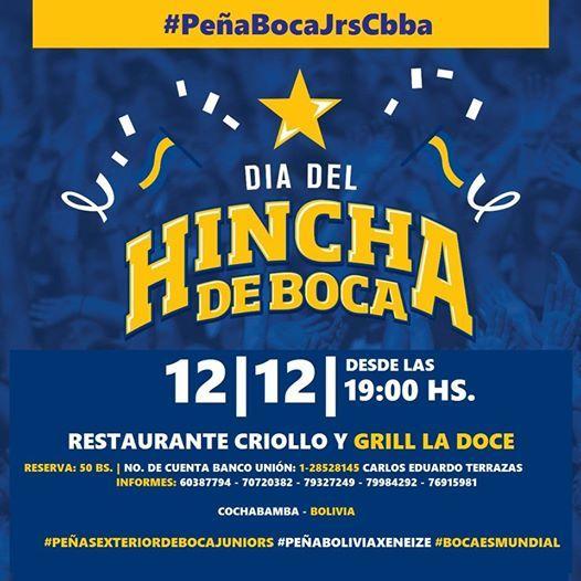 Día Del Hincha De Boca At Restaurante Criollo Y Grill La