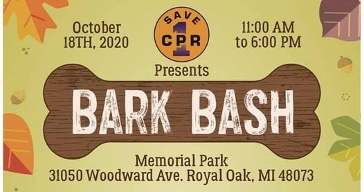 Let's Keep Going at Bark Bash 2020 | Event in Royal Oak | AllEvents.in