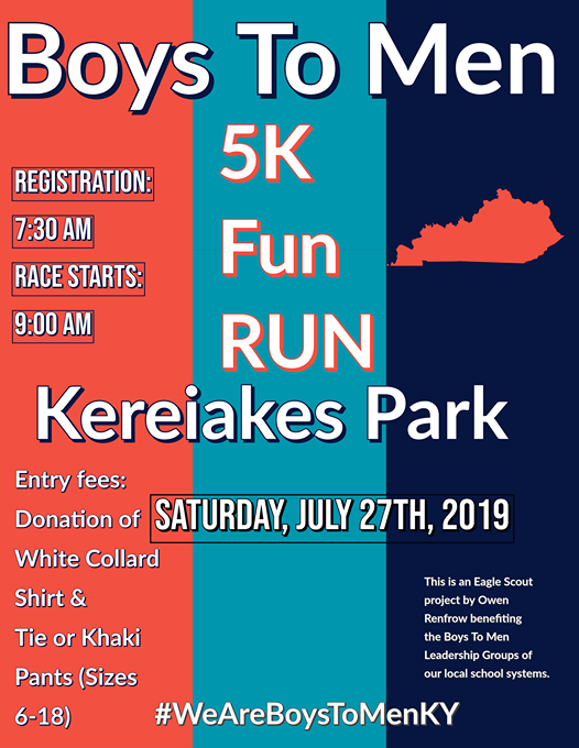 Boys To Men 5k Fun Run