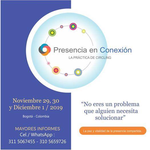 Taller de Presencia en Conexin (Circling) en Bogot